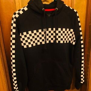 Other - Black & White checkered hoodie. 🖤